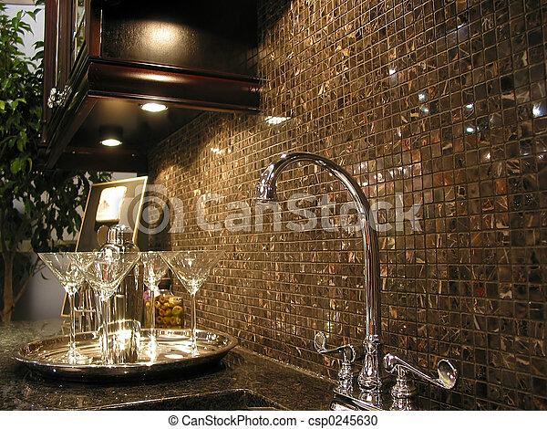 modernos, cozinha - csp0245630