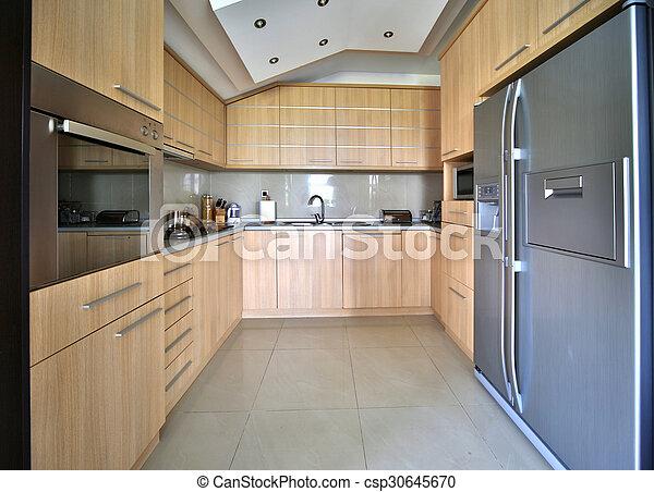 modernos, cozinha - csp30645670