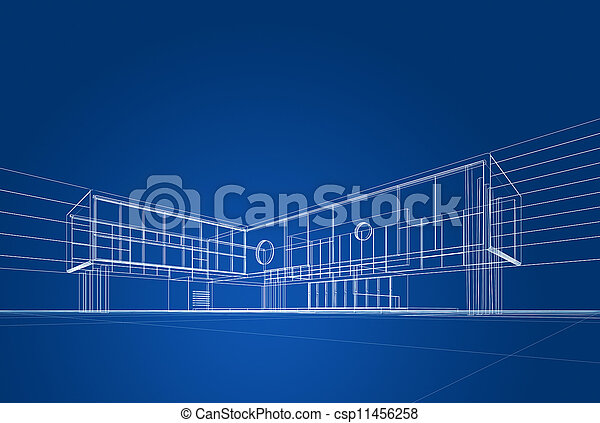 modrák, architektura - csp11456258