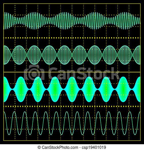 modulação, amplitude - csp19401019