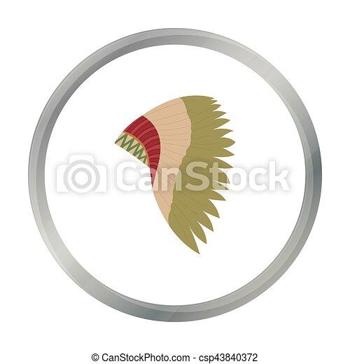 mohawk indian icon cartoon singe western icon from the Mohawk Indian Longhouses Mohawk Indians Weapons