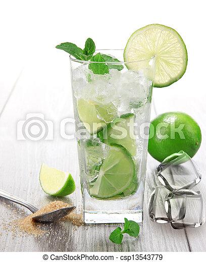 mojito, cocktail - csp13543779