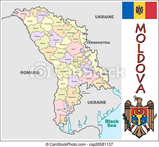 Moldova administrative divisions Administrative divisions