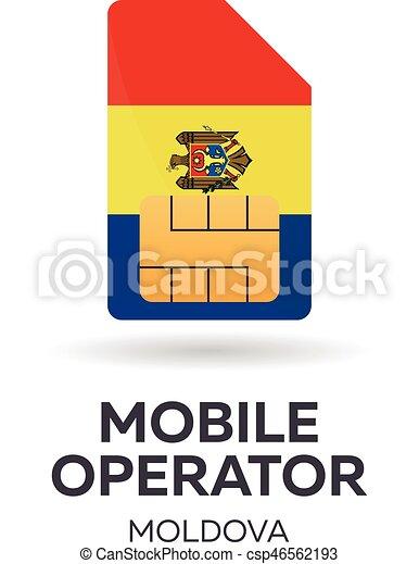 Moldova mobile operator. - csp46562193