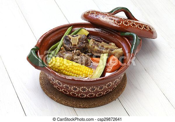 mole de olla, mexican cuisine - csp29872641