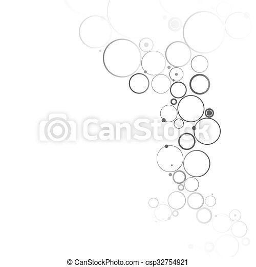 Molecular abstract background - csp32754921