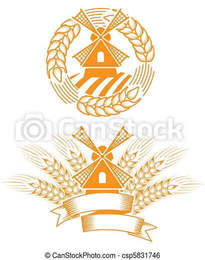 El emblema del molino - csp5831746