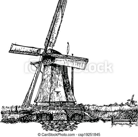 Windmill - csp19251845