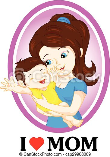 mom and baby - csp29908009
