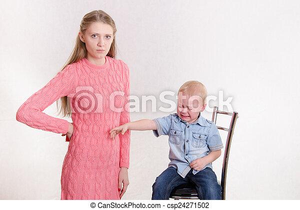 Italian Mom Daughter Son