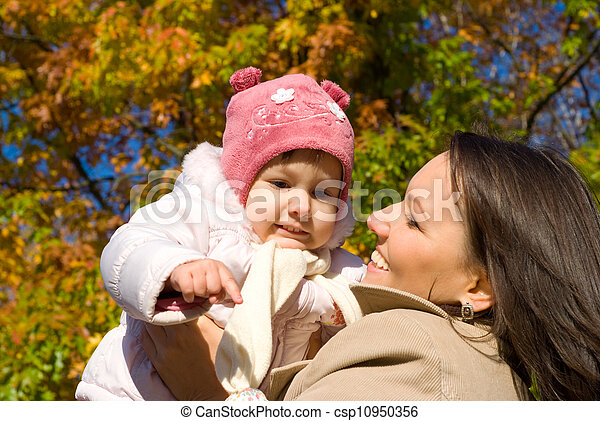 mom with daughter - csp10950356