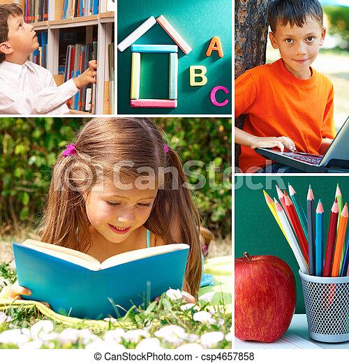 Momentos de educación - csp4657858