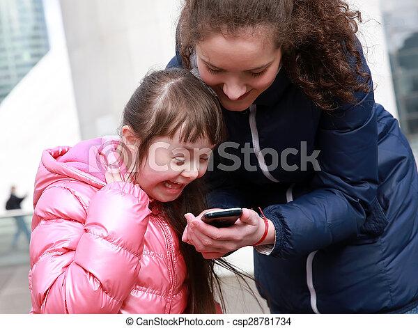 moments., rodzina, szczęśliwy - csp28781734