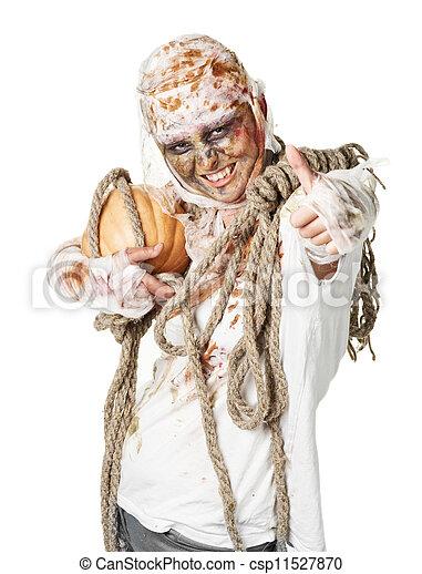 La momia está en el estudio - csp11527870