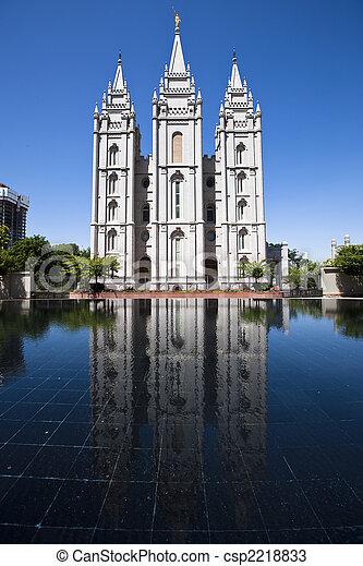 Momon Temple in Salt Lake City - csp2218833