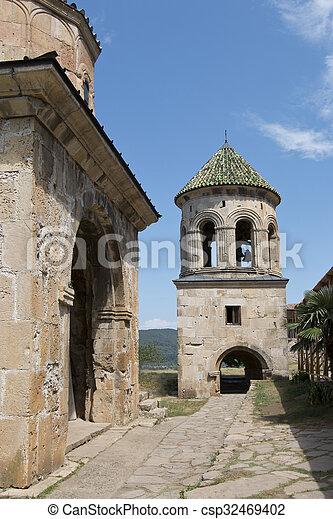 El monasterio Gelati en Georgia - csp32469402