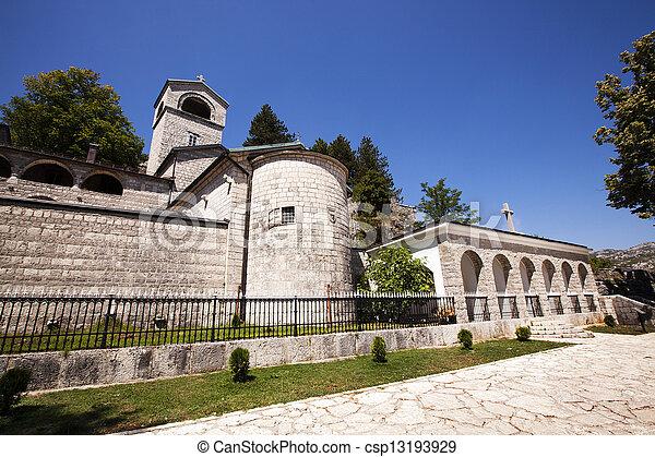 El monasterio de los hombres - csp13193929
