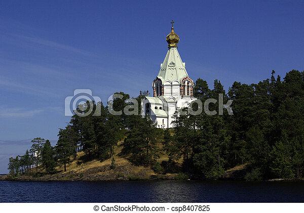 monastery on Valaam - csp8407825