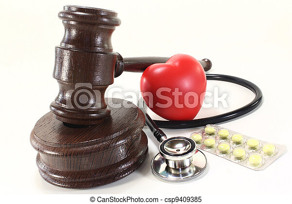 monde médical, droit & loi - csp9409385
