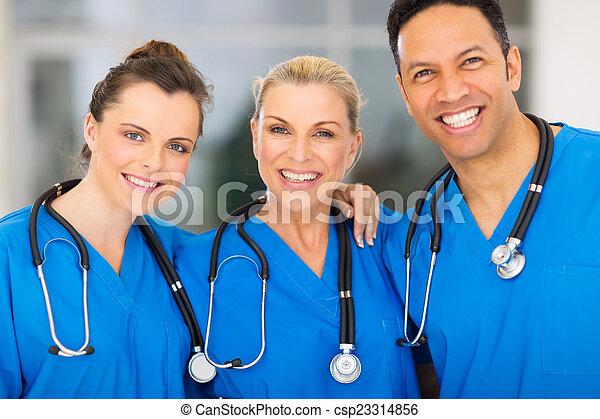 monde médical, groupe, hôpital, équipe - csp23314856
