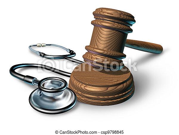 monde médical, malversation - csp9798845