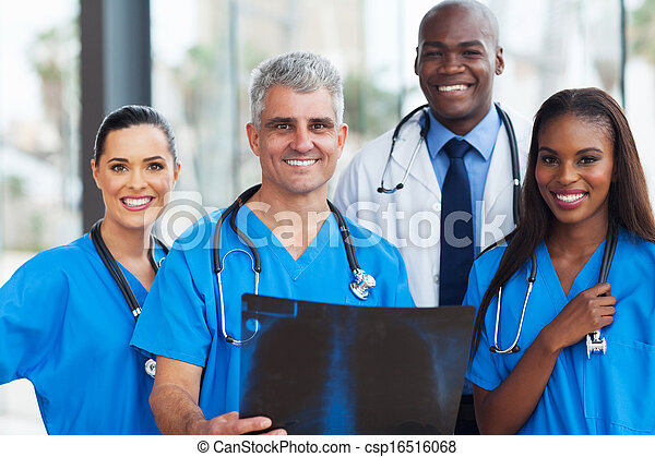 monde médical, ouvriers, équipe - csp16516068