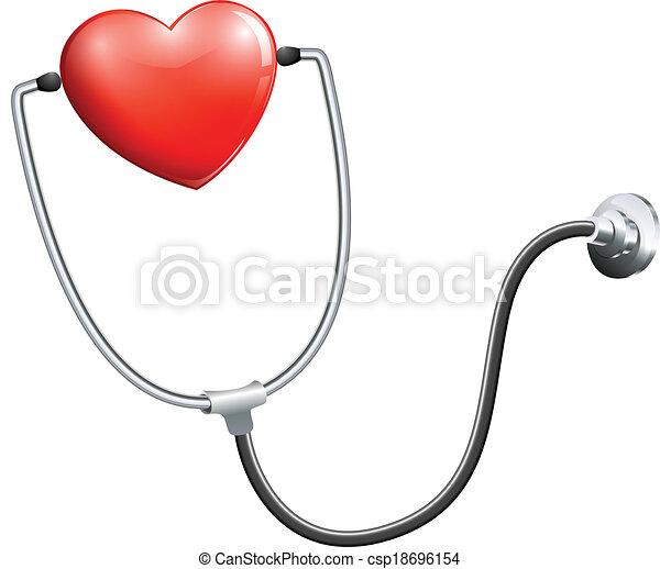monde médical, stéthoscope - csp18696154