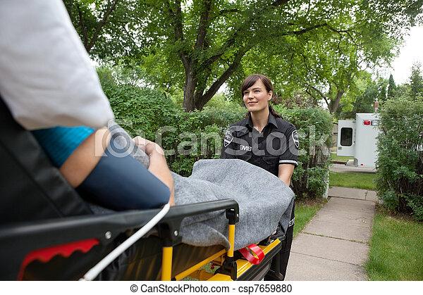 monde médical, transport, soin - csp7659880