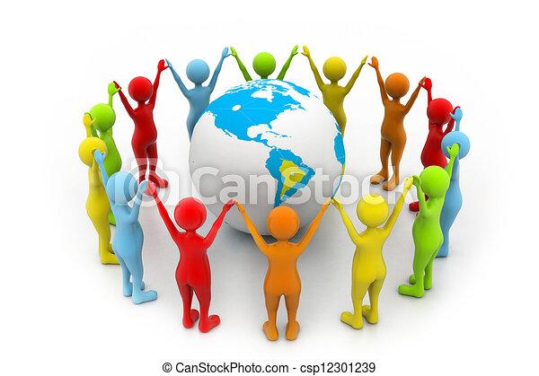 mondiale, association - csp12301239