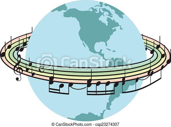 mondiale, chanson - csp23274307