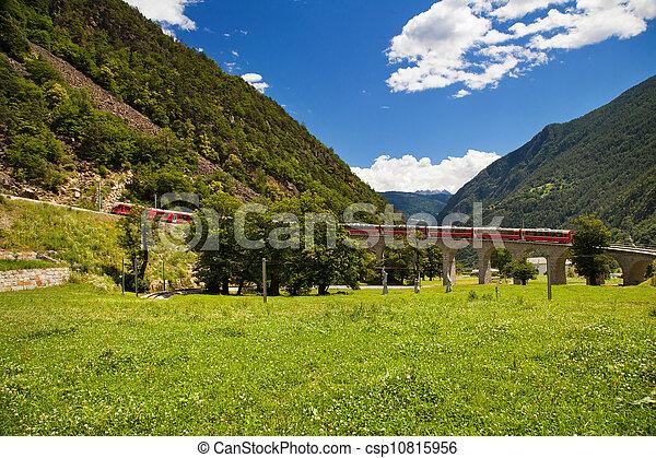 mondiale, suisse, célèbre, train - csp10815956