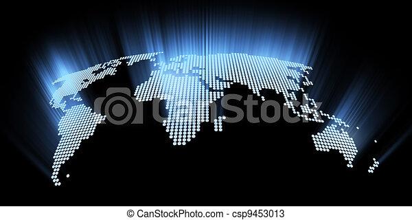mondo, ardendo, ciao-tecnologia, mappa - csp9453013