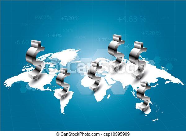 mondo, commerciale - csp10395909