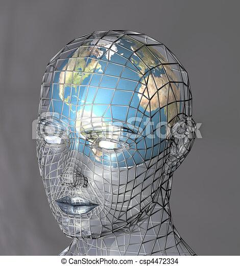 mondo, concetto - csp4472334