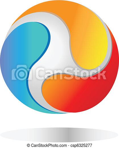 mondo, logotipo - csp6325277