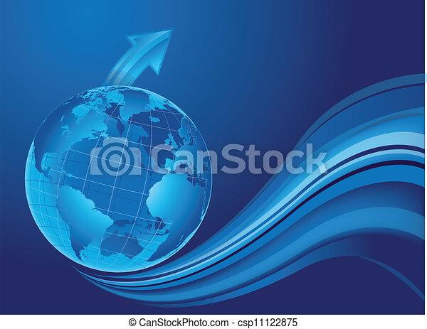 mondo, progresso - csp11122875