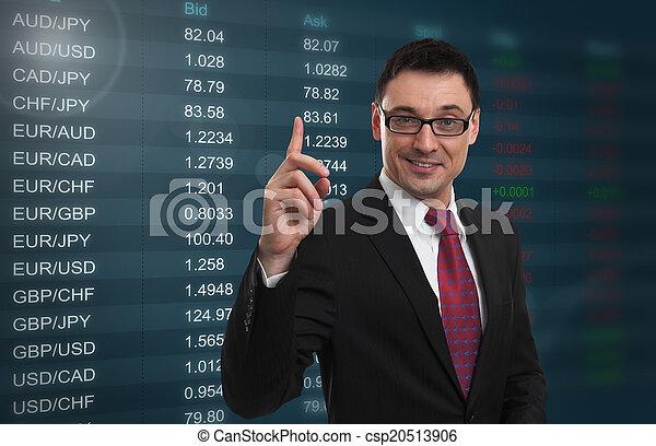 La tasa de cambio de moneda - csp20513906