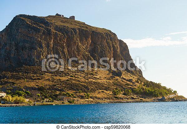 Monemvasia island, Greece - csp59820068