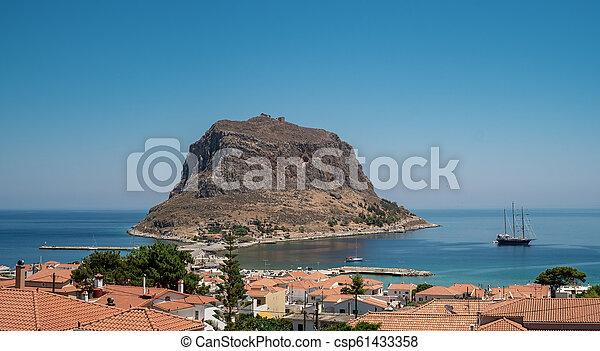 Monemvasia, Laconia, Peloponnese, Greece. - csp61433358