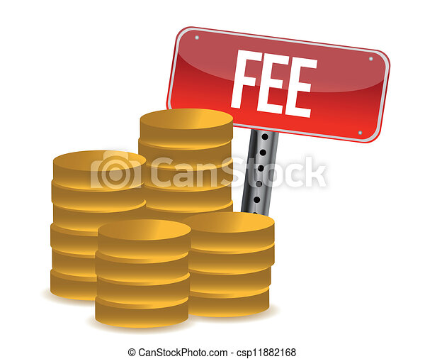 monetary fee concept illustration design over a white background rh canstockphoto com free clip art images free clipart for teachers