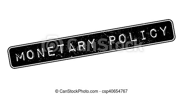 Monetary Policy rubber stamp - csp40654767