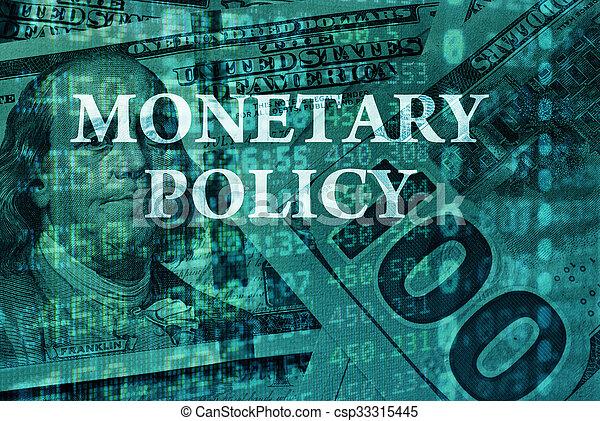 Monetary policy - csp33315445