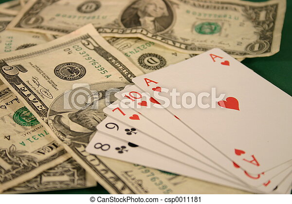 Money and Cards - csp0011181