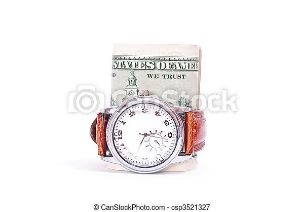 Money and clock - csp3521327