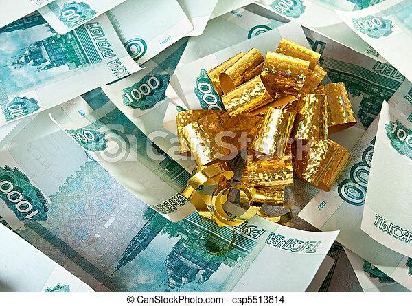 Money as a gift. - csp5513814