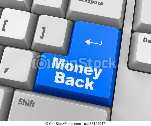 money back - csp35123947