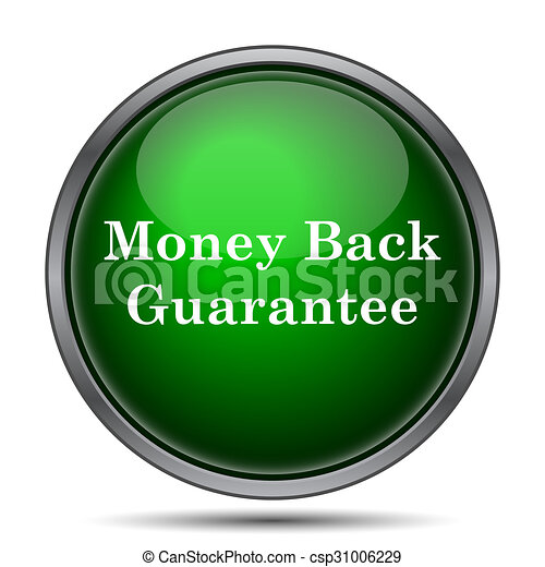 Money back guarantee icon - csp31006229