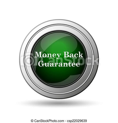 Money back guarantee icon - csp22029639