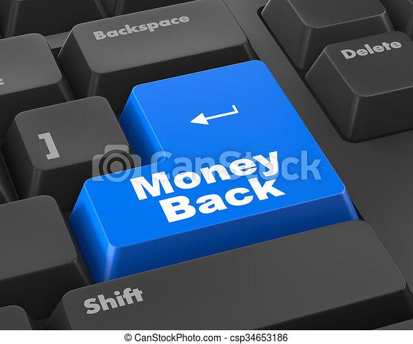 Money back - csp34653186