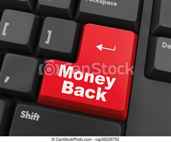 money back - csp35229750